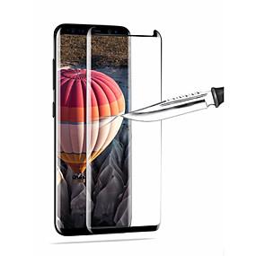 Недорогие Чехлы и кейсы для Galaxy S-Защитные пленки для Samsung9 Защитная пленка для экрана высокого разрешения (HD) 1 шт. Закаленное стекло