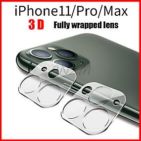 levne Ochranné fólie iPhone 11 Pro-1ks plně průhledná fólie pro iphone 11 3d kryt na zadní stranu objektivu s ochranou objektivu pro iphone 11 pro max tvrzené sklo