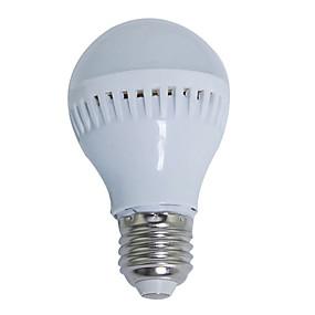 olcso LED gömbbúrás izzók-1db led izzó lámpák e27 220v izzó 5w nagy fényerősségű lampada led bombilla reflektorfény