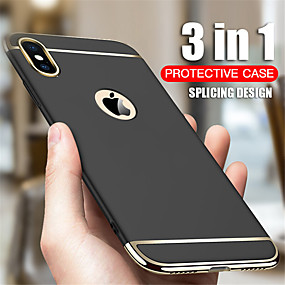 cheap iPhone XR-Case For Apple iPhone 11 / iPhone 11 Pro / iPhone 11 Pro Max Shockproof / Ultra-thin Full Body Cases Solid Colored PC