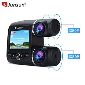Недорогие Видеорегистраторы для авто-juncan s699.g full hd 1080p 2-дюймовая петля записи gps g-сенсор автоматическая приборная панель автомобильная видеорегистратор видеорегистратор парковочный монитор автомобильный видеорегистратор