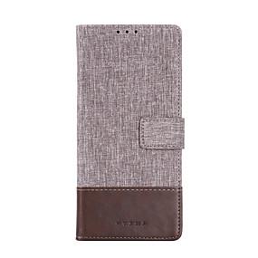 Недорогие Чехлы и кейсы для Huawei Mate-Кейс для Назначение Huawei Huawei P20 / Huawei P20 Pro / Huawei P20 lite Бумажник для карт / Защита от удара Чехол Однотонный Кожа PU