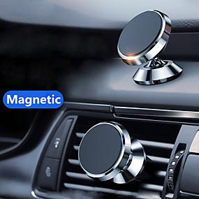 billige Køretøjsmonteret-magnetisk biltelefon stativ instrumentbræt telefon ny luksus stativ holder til iphone til huawei lite magnet lufthulshåndtag installation