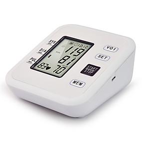 povoljno Testeri i detektori-novi crno-bijeli zaslon kućanskih mjerača krvnog tlaka / glasovna emisija / inteligentno mjerenje tlaka / jedno dugme