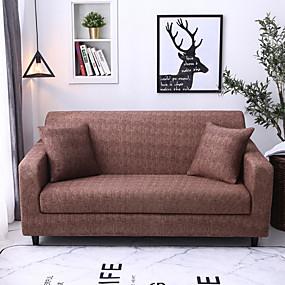 billige Tekstiler til hjemmet-luksuriøs grundlæggende, støvtæt stretch-slipovertræk stretch-sofa-dækning super blødt stof sofa-dækning (du får 1 kast-pudebetræk som gratis gave)