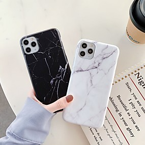 cheap iPhone 11 pro-Case For Apple iPhone 11 / iPhone 11 Pro / iPhone 11 Pro Max Shockproof / IMD Back Cover Marble TPU