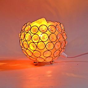 povoljno LED noćna rasvjeta-vodio himalajsku zraku za pročišćavanje zraka kristalnu sol lampu noćno svjetlo kreativni usb 1pc