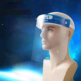 Χαμηλού Κόστους Ηλεκτρονικά για προσωπική φροντίδα-diy συνηθισμένο καπέλο προσώπου αντιπαγετικό προστατευτικό πρόσωπο φύλλο εργασίας προστατευτικό προστατευτικό σκόνης γυαλιά pc πρώτες ύλες διαφανές κράνος ασφαλείας