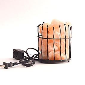 povoljno LED noćna rasvjeta-vodio himalajsku svjetiljku za pročišćavanje zraka s metalnim košem noćno svjetlo kreativno 1pc