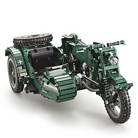 ราคาถูก โมเดลและตึกของเล่น-Building Blocks 629 pcs Military ที่เข้ากันได้ Legoing การจำลอง รถมอเตอร์ไซด์ ทั้งหมด Toy ของขวัญ / สำหรับเด็ก