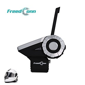 cheap Motorcycle Helmet Headsets-Freedconn T-REX motorcycle team speaks to 8 buleoth driver intercom headphones at 1500m.Complimentary remote control L3