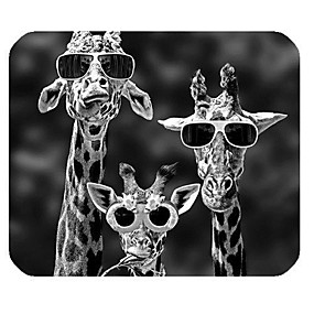 povoljno Podloga za miš-1p. Žirafa igra 22 * 18cm podloga za miša velika igra jastuk dobra tkanina proizvoda glatka tanka i lagana elektronička konkurencija