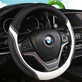 TTBD Coprivolante per Auto Coprivolante Antiscivolo Traspirante Accessori Interni Adatti per La Decorazione Auto Blu