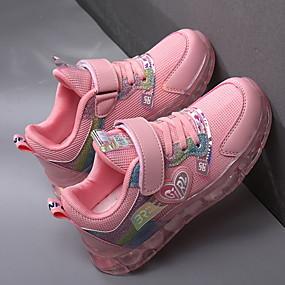 povoljno Dječje cipele-Djevojčice Udobne cipele Mrežica Atletičarke tenisice Velika djeca (7 godina +) purpurna boja / Pink Ljeto
