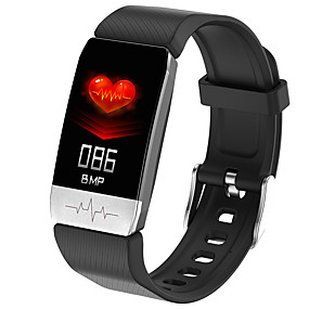 cheap Smart Wristbands-T1 Smart Watch Body Temperature Measure Blood Pressure Monitor Heart Rate Fitness Tracker Smart