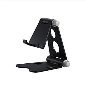 baratos Comprar por Modelo de Celular-suporte de telefone dobrável ajustável suporte de mesa suporte de mesa ajustável multi-ângulo com base antiderrapante e porta de carregamento conveniente, serve para todos os telefones inteligentes