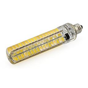 povoljno LED klipaste žarulje-led sijasta silikonska svjetiljka svjetlo gy6.35 / g4 / ba15d / e11 / e12 / e14 / e17 / g9 led kukuruzna žarulja 136 smd 5730 110v 220v bijela topla bijela 1pcs