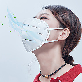 cheap Face Mask-20 Pcs KN95 CE FFP2 Face Mask Approved Respirator Anti Filtered ≥95% High Filtration