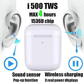 povoljno Oprema za PC i tablet-nova i500 tws 2 1 do 1 replika bluetooth slušalice bežične slušalice 6d senzor zvučnika subwoofera sa bežičnim slušalicama za punjenje pk i100 i200 i1000 tws w1 / h1 čip