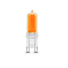 ieftine Becuri LED Bi-pin-1 buc 2 W Becuri LED Bi-pin 250-270 lm G9 1 LED-uri de margele COB Intensitate Luminoasă Reglabilă Decorativ Alb Cald Alb
