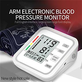povoljno Elektronika za osobnu njegu-z54a inteligentni nadlaktica elektronski sfigmomanometar kućni merač krvnog tlaka automatski ruka sfigmomanometar nadzor otkucaja krvni tlak praćenje vanjske trgovine english verzija