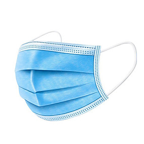 cheap Face Mask-Personal Protective Equipment Face Mask Protection Antivirus Convenient Nonwoven CE Certified Certification High Quality Blue