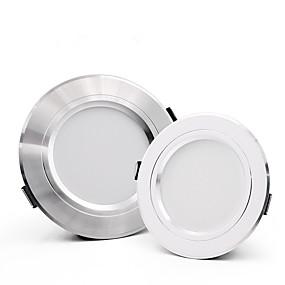 halpa Alavalo-1set 18 W 1510 lm 24 LED-helmet Helppo asennus Upotettu Alaspäin valaisevat LED-valaisimet Lämmin valkoinen Kylmä valkoinen 110-240 V Koti / Toimisto Keittiö Olohuone / Ruokailuhuone