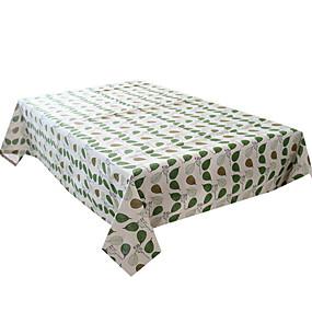 Χαμηλού Κόστους Λευκά Είδη Τραπεζιού-Τραπεζομάντιλα πολυεστερικές ίνες Ανθεκτικό στο Νερό Κλασσικό Γεωμετρικό Κάλυψη πίνακα Επιτραπέζιες διακοσμήσεις για Καθημερινά Ρούχα Τετράγωνο 60*60 cm Πράσινο 1 pcs