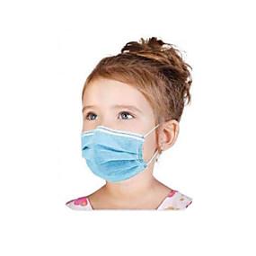 povoljno Elektronika za osobnu njegu-50 pcs Maska za lice Za jednokratnu upotrebu Protection Otporan na prašinu Nonwoven Fabric CE FDA ISO Certifikat Visoka kvaliteta Djevojčice Djeca Plava