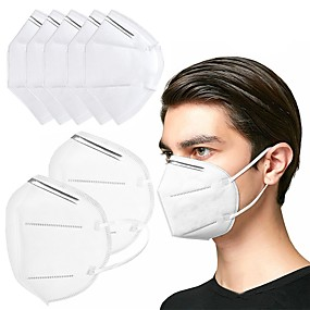 cheap Face Mask-10/20/50 pcs KN95 CE FFP2 Face Mask Respirator Protection In Stock CE Certified Certification White