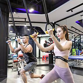 baratos Exercício e Fitness-Gymnastikringe Esportes ABS Ioga Exercício e Atividade Física Treino de Ginástica Ajustável olímpico Durável Trabalhos Pesados Crossfit Fortalecimento dos Ombros Força Alta Para Masculino Feminino