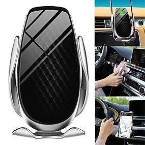 cheap Car Organizers-Mobile Phone Bracket Holder Charging Wireless Charger Portable 360 Degree Rotating for Car JR Deals
