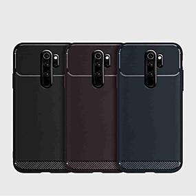 povoljno Kupuj prema modelu telefona-Θήκη Za Xiaomi Xiaomi Redmi Note 5 Pro / Xiaomi Redmi Napomena 5 / Xiaomi Redmi 7 Otporno na trešnju Stražnja maska Jednobojni TPU / Carbon Fiber