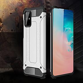 baratos Comprar por Modelo de Celular-Capinha para samsung galaxy s20 / s20 plus / s20 capa de telefone com armadura híbrida robusta e ultra resistente ao choque para samsung galaxy a91 / a81 / a71 / a51 / a50s / a40s / a30s / a20s / a10s