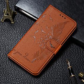 povoljno Kupuj prema modelu telefona-Θήκη Za Samsung Galaxy S9 / S9 Plus / A6 (2018) Novčanik / Utor za kartice / sa stalkom Korice Perje PU koža