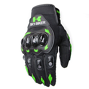 cheap Motorcycle Gloves-Touch Screen Gloves Motorcycle Gloves Winter and Summer Motos Luvas Guantes Motocross Protective Gear Racing Gloves