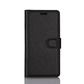 Недорогие Чехлы и кейсы для Galaxy A5(2016)-Кейс для Назначение SSamsung Galaxy S9 / S9 Plus / S7 Active Кошелек / Бумажник для карт / Флип Чехол Однотонный Кожа PU / ТПУ