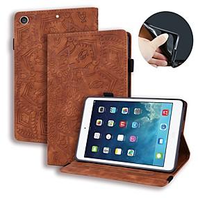 povoljno iPad 2/3/4 maske-Θήκη Za Apple iPad Air / iPad 4/3/2 / iPad (2018) Novčanik / Utor za kartice / Reljefni uzorak Korice Jednobojni / Cvijet PU koža