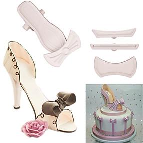 voordelige Keuken & Eten-9 stks / set schoenen met hoge hakken fondant cakevorm cake decorating gereedschap