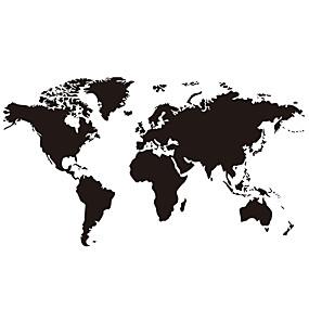 povoljno Ukrasne naljepnice-svjetska karta zidne naljepnice ravni zidne naljepnice ukrasne zidne naljepnice pvc ukras za dom zidne naljepnice zid / prozori ukras 1pc