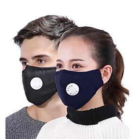 ieftine Sănătate & Înfrumusețare-Anti-Ceață Rezistent la Praf Protecţie Bicicletă / Ciclism Roșu Închis Bleumarin Alb pentru Pentru femei Adulți Mată / Mască / Mască