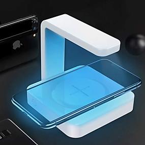 저렴한 휴대폰 살균기-휴대폰 살균기 소독 / 무선 충전기 / 자외선 소독 ABS + PC 냄새 방지