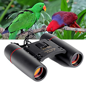 cheap Camping & Hiking Accessories-30 X 60 mm Binoculars Military Night Vision in Low Light High Definition Fully Multi-coated Hunting Camping / Hiking / Caving Outdoor Plastic Rubber