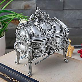 זול קופסת תכשיטים ותצוגה-אריזות תכשיטים - אפור Marl 12 cm 7.7 cm 14 cm / בגדי ריקוד נשים