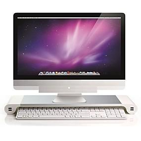 cheap USB Gadgets-portable computer stand aluminum laptop stand desk dock holder bracket for apple imac/tablet/ macbook pro/pc/notebook base
