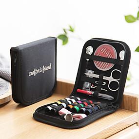 cheap Holiday & Party Decorations-Creative Handmade Sewing Tool 10pcs Set Home Travel Sewing Box Portable Sewing Needle Box Sewing Kit