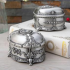 זול קופסת תכשיטים ותצוגה-אריזות תכשיטים - אפור Marl 10.8 cm 7.7 cm 7 cm / בגדי ריקוד נשים