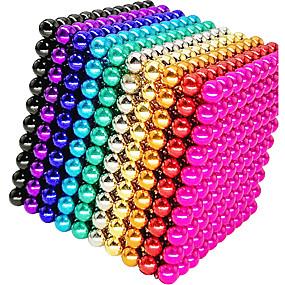ราคาถูก ของเล่นและเกม-1000 pcs 5mm Magnetiske leker ลูกบอลแม่เหล็ก Building Blocks ซูเปอร์แข็งแกร่งหายากของโลกแม่เหล็ก Neodymium Magnet Neodymium Magnet Magnetic / ความเครียดและความวิตกกังวลบรรเทา