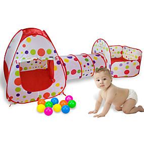 hesapli Klasik Oyuncaklar-Oyun Çadırları ve Tünelleri Oyun Evi Çadır Rol Yapma Oyunu Çocuk Oyun Çadırı Çocuk Çadırı Dış Mekan Katlanabilir Uygun Yenilikçi Polyester Naylon İç Mekan Dış mekan Bahar Yaz Sonbahar 2 yıl + Gen