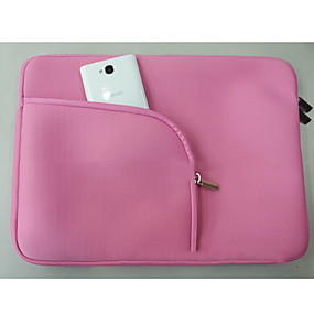 cheap Laptop Gadgets-1Pc Laptop Inner Case Double-Layer Thickened Inner Super Soft Velour/Extra Thin And Thick Zipper Bag